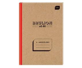 BRULION A5 80K KRATKA 70G ANGIELSKI