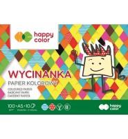 Blok Wycinanka, A5 10 ark, 100 g, Happy Color