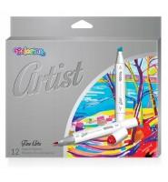 Markery Do Szkicowania 12 Kolorów Colorino Artist
