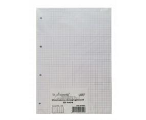 Wkład do segregatora, 50 kartek, format A4, kratka, UNIPAP