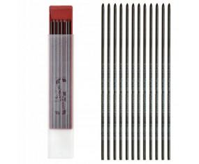 KOH-I-NOOR Grafity do ołówków auto 2mm 2B 12 sztuk