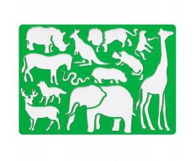 Koh-I-Noor Szablon dla dzieci zwierzęta Safari