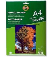 KOH I NOOR Papier Fotograficzny Błysk 150g A4/20 ark.