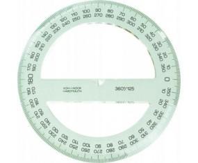 KOH-I-NOOR Kątomierz kołowy 360/125