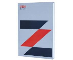 KOH-I-NOOR Skorowidz A4, 96 kartek, kratka, twarda oprawa