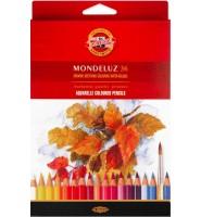 Kredki akwarelowe 36 kolorów mondeluz KOH-I-NOOR