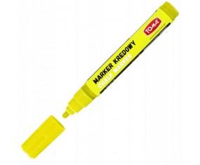 Marker kredowy 4,5mm ŻÓŁTY TO-292 TOMA