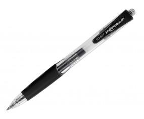 Długopis żelowy Mastership 0,5 mm CZARNY TO-077 TOMA