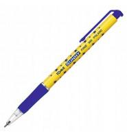 Długopis automatyczny w gwiazdki NIEBIESKI 0,7 mm TO-060 TOMA