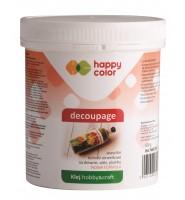 Klej do decoupage, wiaderko 500g, Happy Color
