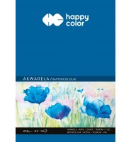 Blok akwarelowy, ART, A3, 10 ark, 250g, Happy Color