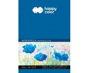 Blok akwarelowy, ART, A4, 10 ark, 250g, Happy Color