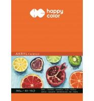 Blok do akrylu Art., A5, 10 ark, 360g, Happy Color