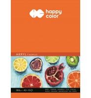 Blok do akrylu, Art., A3, 10 ark, 360g, Happy Color