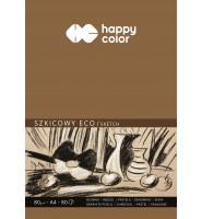 Blok szkicowy ECO, ART, A4, 80 ark, 80g, Happy Color