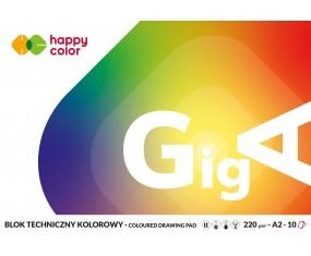 Blok A2 Techniczny kolorowy 220g Happy Color
