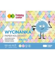 Blok Wycinanka Pastel A5 10 ark 100 g Happy Color