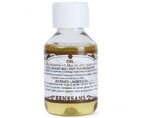 Olej lniany bielony rafinowany 100ml RENESANS