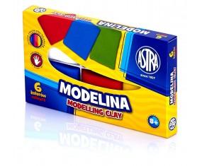 Modelina 6 kolorów, ASTRA