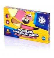 """Modelina """"Cukiernicza zabawa"""" 6 kolorów, ASTRA"""