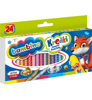 Kredki szkolne bambino 24 kolory