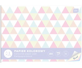 PAPIER KOLOROWY A4/10K 115G PASTEL INTERDRUK