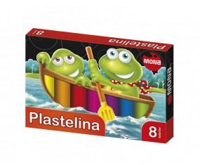 Plastelina MONA, 8 kolorów