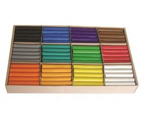 Plastelina MONA, zestaw dla przedszkoli, 180 sztuk