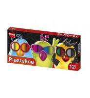 Plastelina MONA, 12 kolorów
