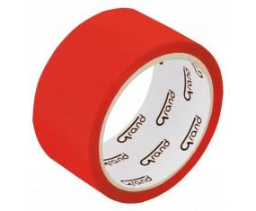 Taśma Pakowa Kolorowa 48x50 czerwona akrylowa GRAND