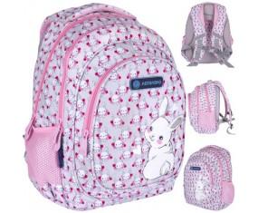 Plecak szkolny ASTRABAG AB330, SWEET BUNNY