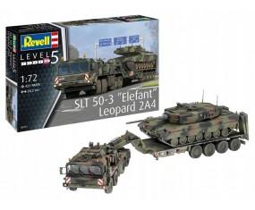 MODEL DO SKLEJANIA 1:72 SLT 50-3 Elefant + Leopard 2A4 03311 REVELL