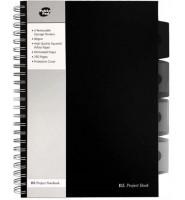 PUKKA PROJECT BOOK Z SERII BLACK B5 KRATKA CZARNY