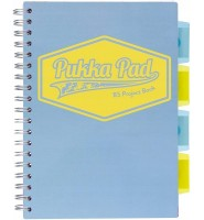 PUKKA PASTEL B5 PROJECT BOOK KRATKA NIEBIESKI