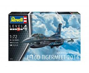 MODEL DO SKLEJANIA 1:72 F-16D TIGERMEET 2014 03844 REVELL