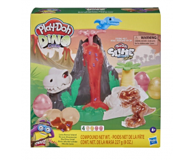 Play-Doh Slime HydroGlitz Wyspa dinozaurów