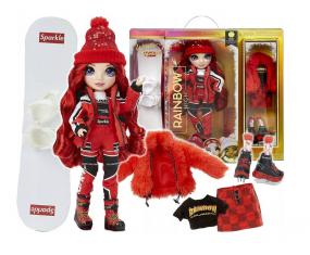Rainbow High Winter Break Fashion Doll Ruby Anderson MGA