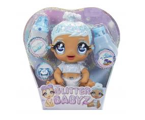 Błyszcząca Lalka Glitter Babyz Doll Snowflake