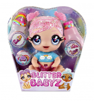 Błyszcząca Lalka Glitter Babyz Doll Stardust