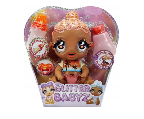 Błyszcząca Lalka Glitter Babyz Doll Sunburst