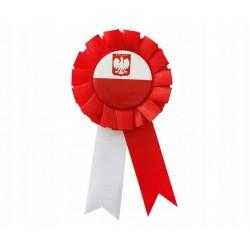 Kotylion POLSKA 11 listopad rocznica NIEPODLEGŁOŚĆ