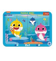 Puzzle dla dzieci BABY SHARK - Wesołe Rekiny TREFL