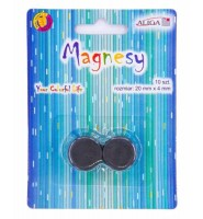 Magnesy MAG-3427 blister 10szt 22mm/4mm